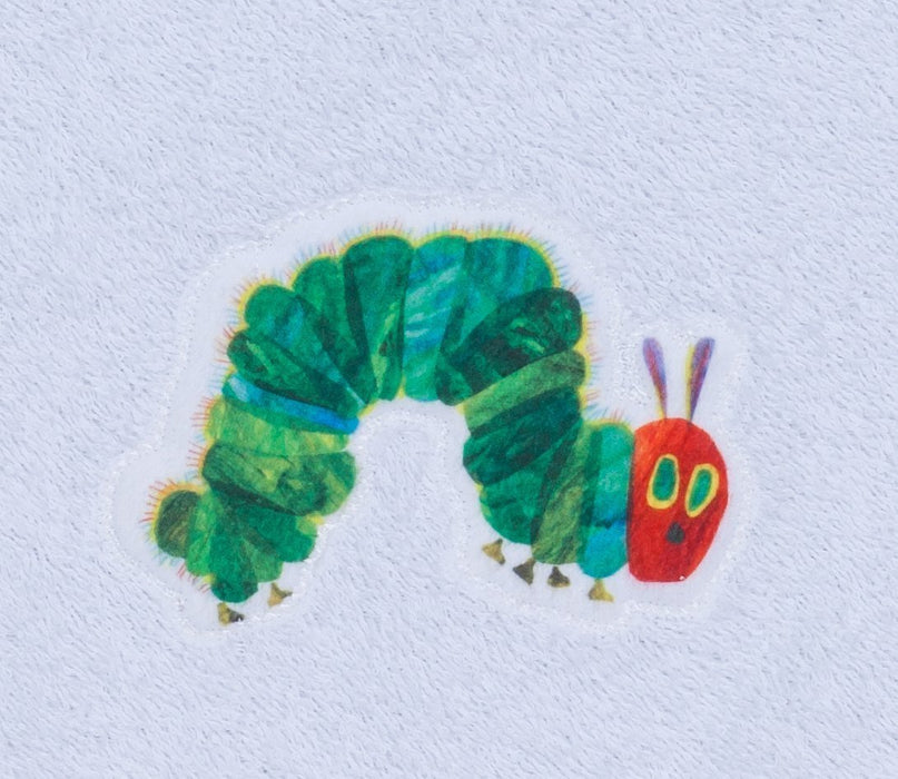 Smithy Fashion 1303019 Towel with The Very Hungry Caterpillar Design 35 x 50 White