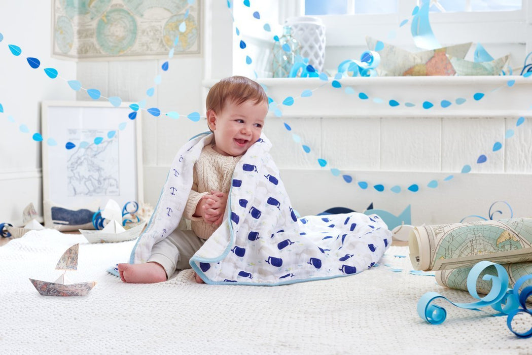 aden + anais Classic Dream Blanket (High Seas)