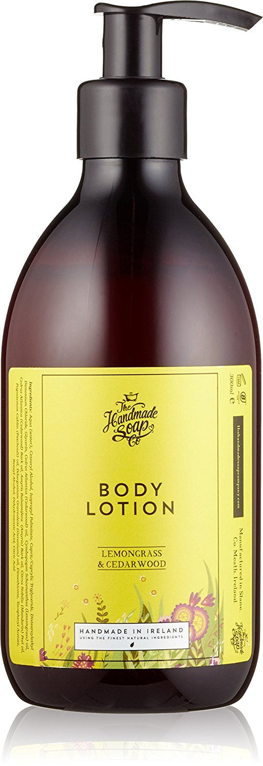 The Handmade Soap Company Lemongrass and Cedarwood Body Lotion 300 ml