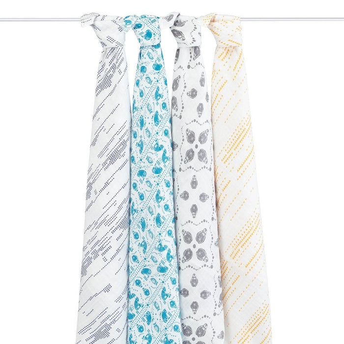 aden + anais Classic Swaddle (Kindred, Pack of 4)