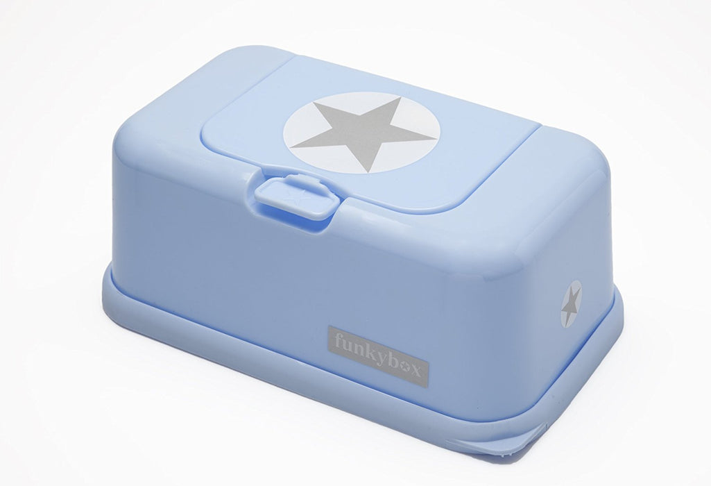 FunkyBox – Blue Star Baby Wipe Dispenser