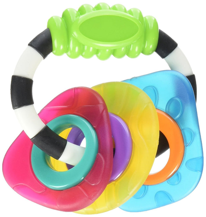 Playgro Textured Teething Rattle for Baby