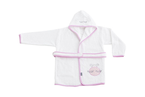 NAFNAF 100 Percentage Cotton Ladybird Bathrobe (24 - 36 Monthss, Pink)