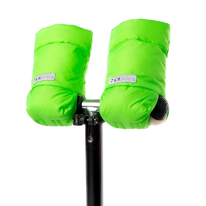 7AM Enfant Kids WarMMuffs, Neon Green, Small