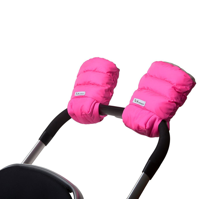 7AM Enfant Stroller WarMMuffs for Parents and Caregivers, Neon Pink