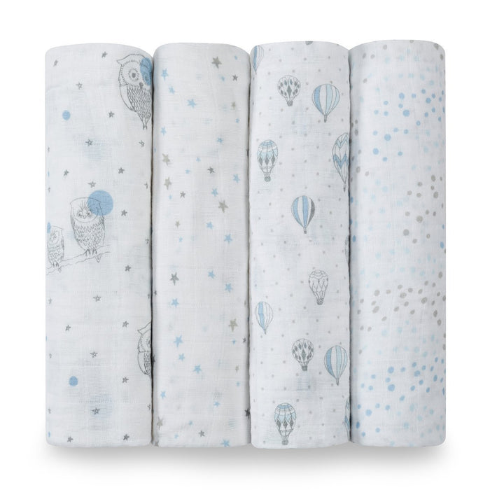 aden + anais Night Sky Classic Swaddle (Pack Of 4)