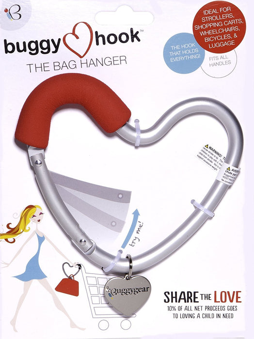 Buggyguard Buggy Heart Hook (Red)