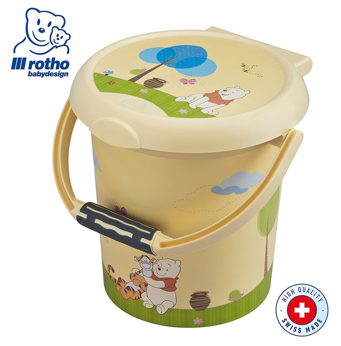 Rotho Babydesign Nappy Pail Style (Winnie the Pooh)