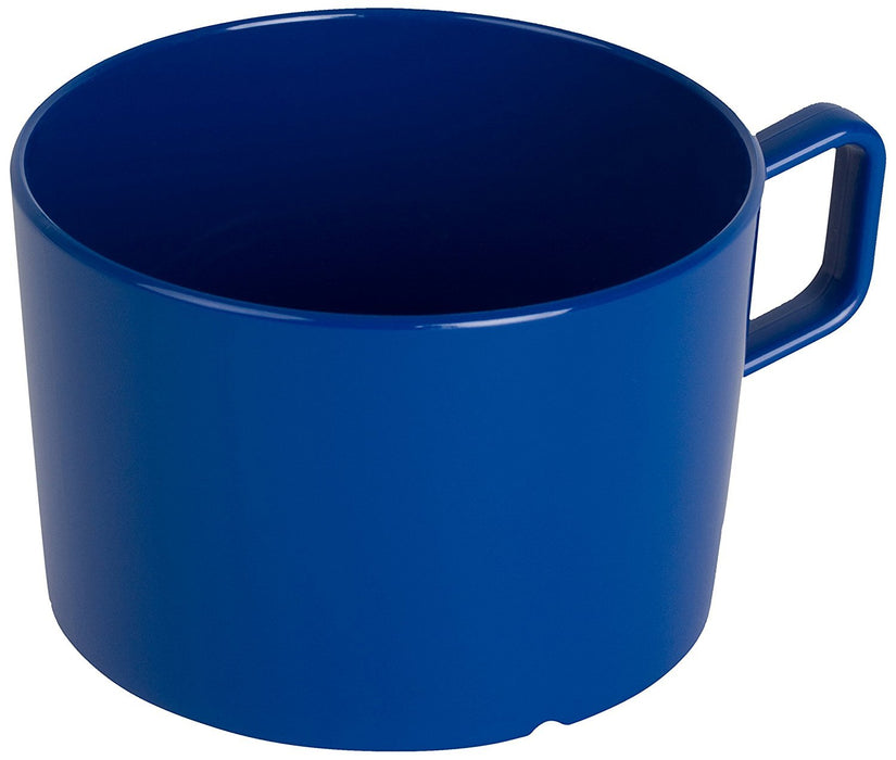 Kinderzeug Polycarbonate Cup (7.5 x 5 cm, 0.20 Litre, Blue, Pack of 6)