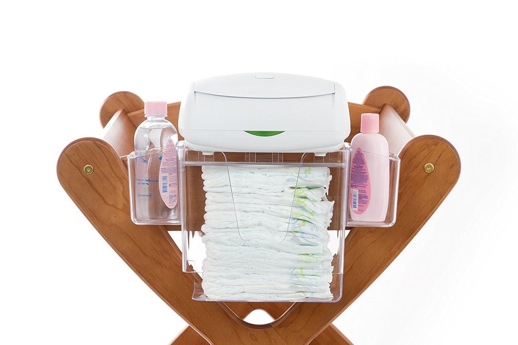 Prince Lionheart Nappy Depot Organiser/Stacker/Changing Set/Station (Hanging Stacker)