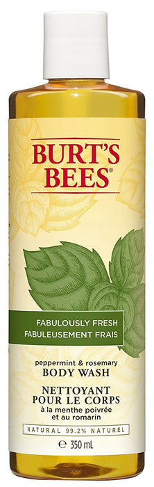 Burt's Bees Peppermint and Rosemary Body Wash, 350ml