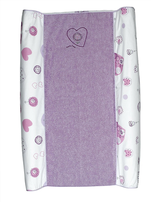 Petit Praia 70 x 46 cm Bath Changing Mat Cover Elise Blanco