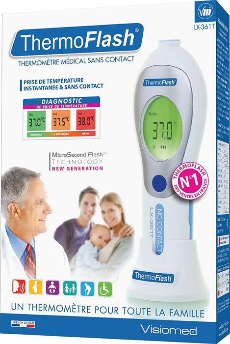 Visiomed Thermoflash Contactless Thermometer