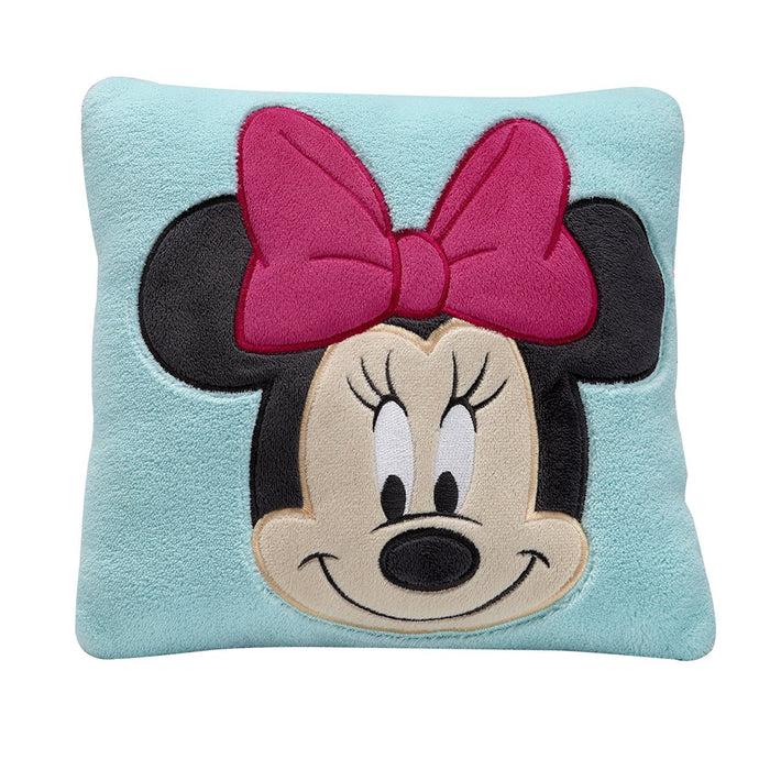 Disney Minnie Decorative Pillow, Turquoise