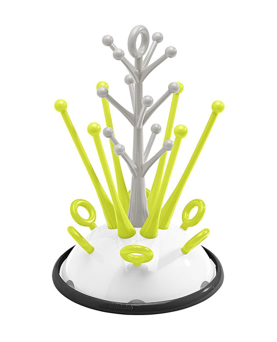 BEABA Bottle Draining Rack and Accessories (Neon)