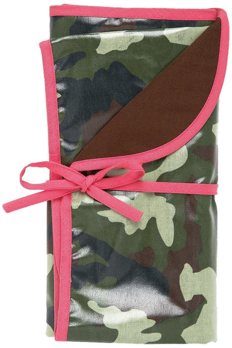 AM PM Kids! Camo Reversible Blanket, Pink