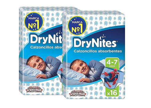 Huggies DryNites Pyjama Pants for Boys 4-7 Years (17 - 30 kg) 2 x Pack of 16