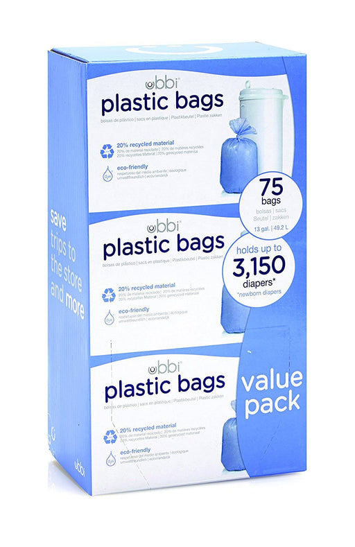 Ubbi Plastic Bags (Pack of 75)