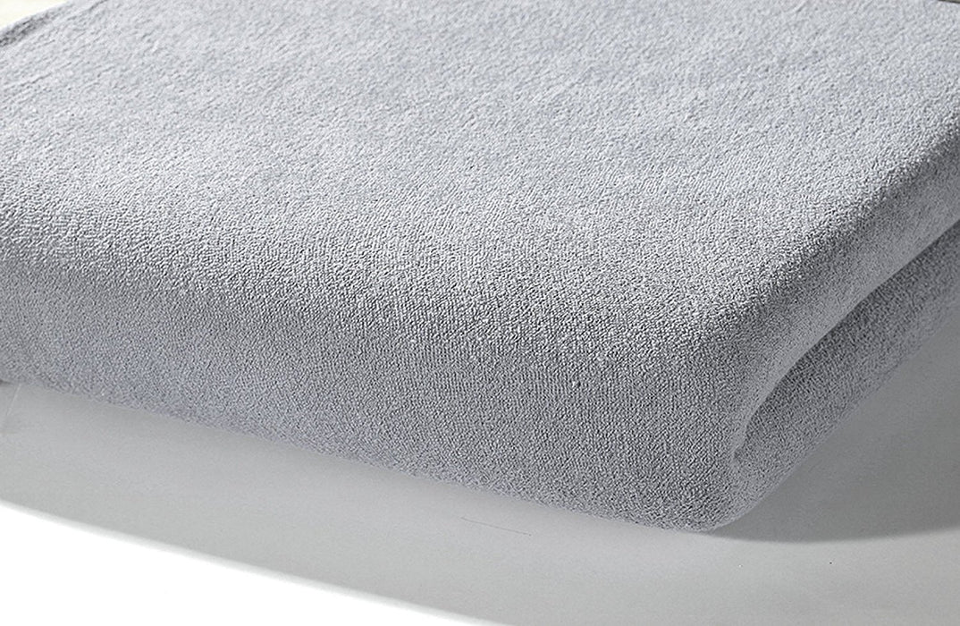 Alvi Jersey Fitted Sheet (70 x 140 cm, Grey)