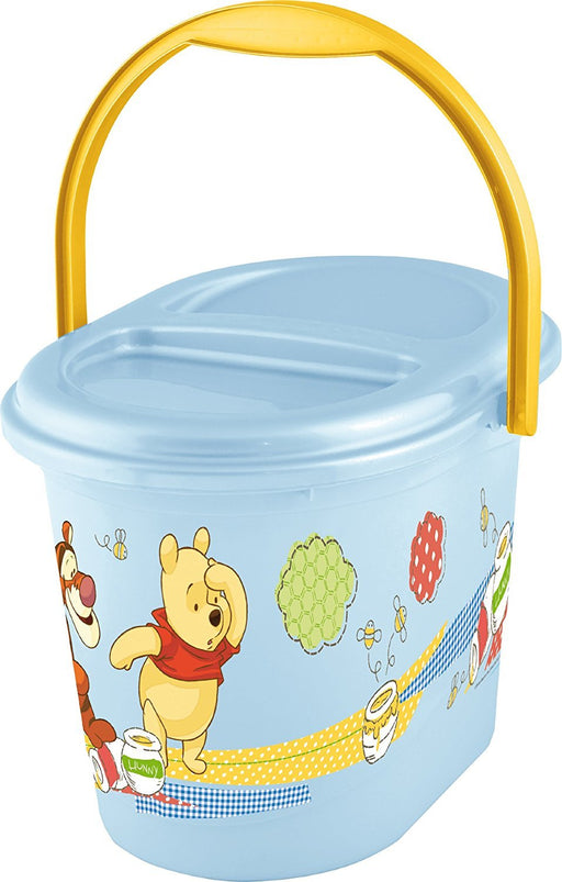 OKT Kids 1180061000300 Nappy Bin Winnie the Pooh and Friends Pacific Colours
