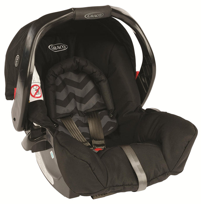 Graco Mirage Plus Travel System - Black ZigZag
