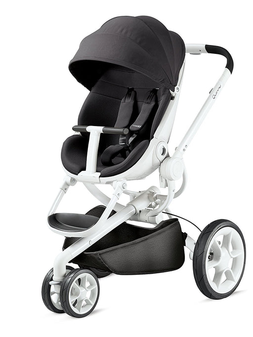 Quinny Moodd Pushchair Frame, Black Irony/White