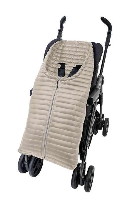 Altabebe Ultra Light Down Footmuff for Strollers (12-36 Months, Beige)