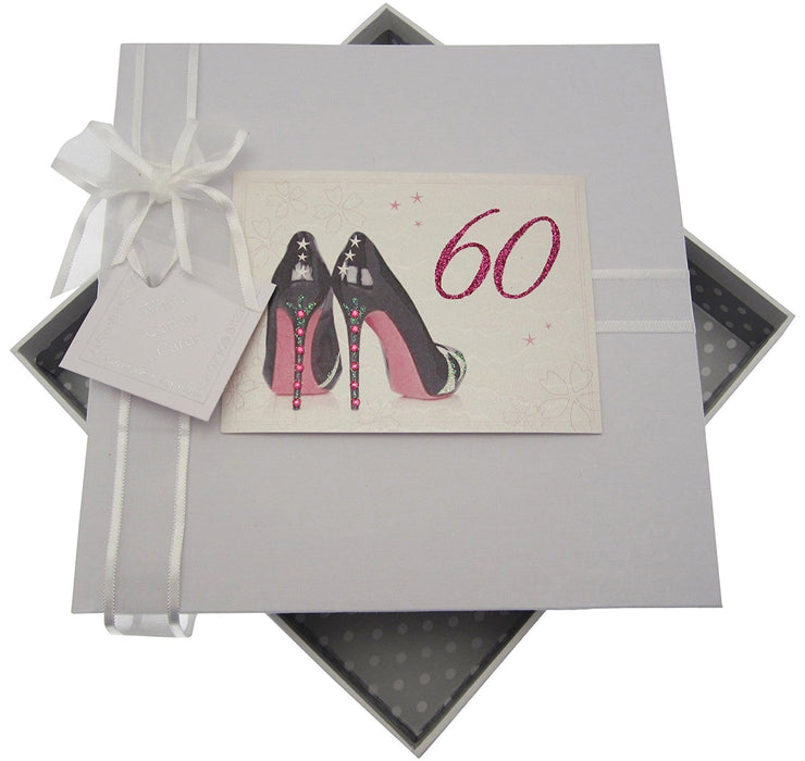 60th Birthday, Medium Photo Album, Black Shoes