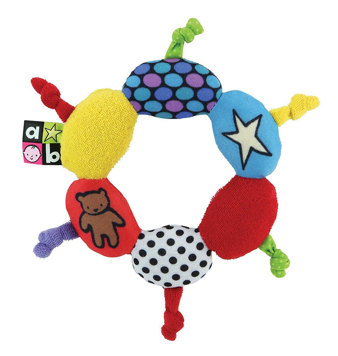Amazing Baby Round Terry Cloth Teether with knotties