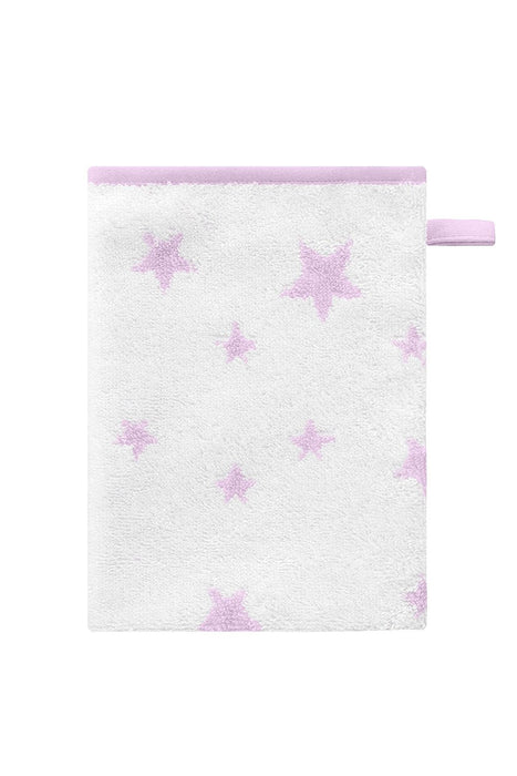 Bellybutton Wash Cloth (Rose Stars)