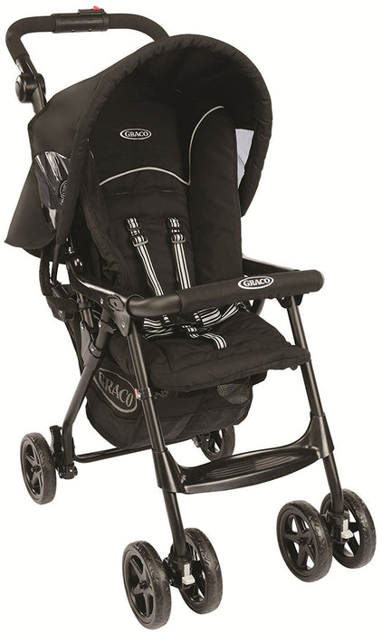 Graco CitiSport Lite Pushchair, Sport Luxe - Black