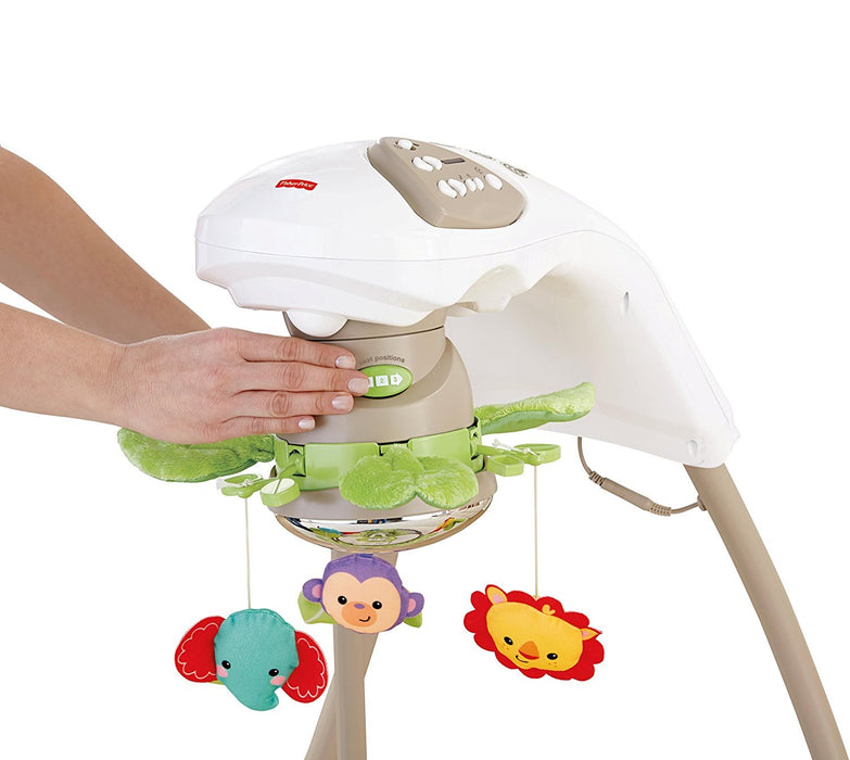 Fisher-Price Deluxe Cradle 'n Swing, Rainforest Friends