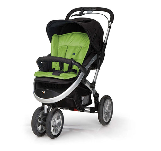 Casualplay S4 3 wheel Stroller (Green)