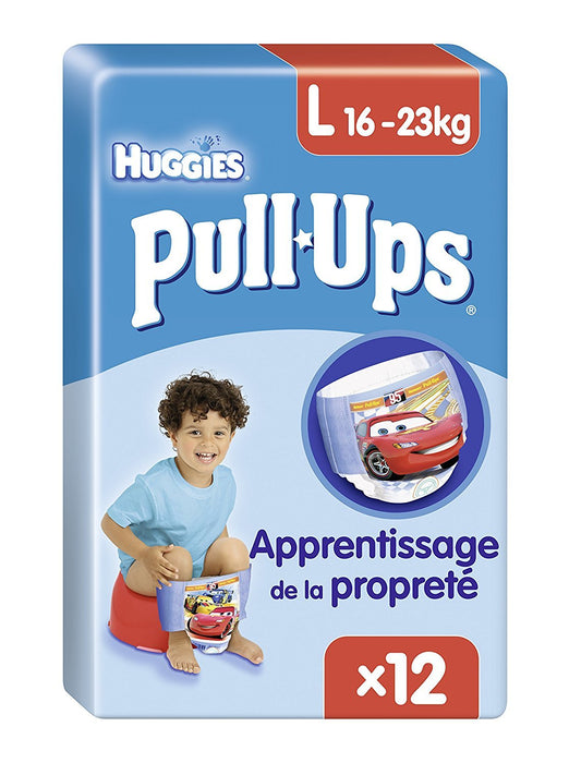 Huggies Pull Ups Potty Training Large Pants for Boys, 12 Pants