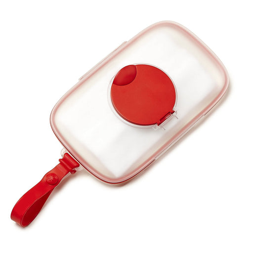 Skip Hop Grab & Go Snug Seal Wipes Case - Red