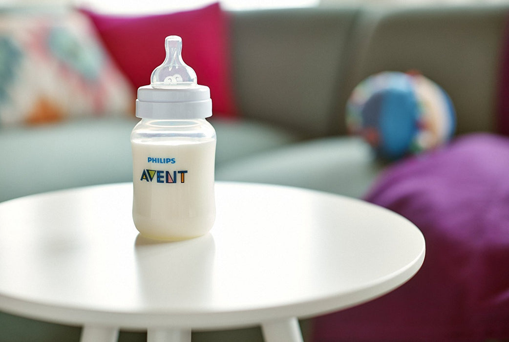 Philips AVENT Anti-Colic Bottle Newborn Starter Set, Clear
