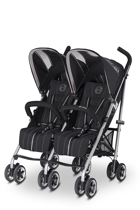 CYBEX Twinyx Happy Pushchairs (Black)