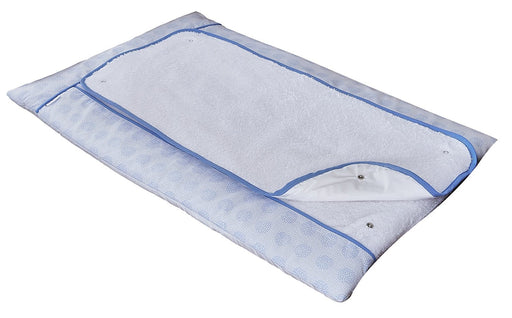 Clair de Lune Changing Mat (Blue, Speckles)