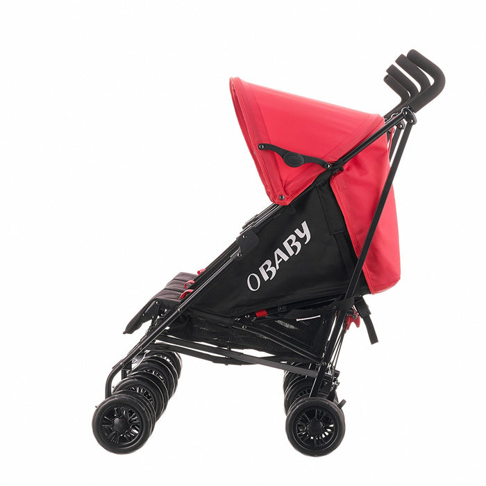Obaby Mercury Triple Stroller (Black/Red)