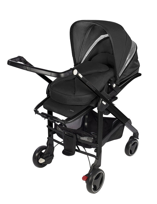 Maxi-Cosi Loola 3 Black Frame Pushchair (Black Raven)
