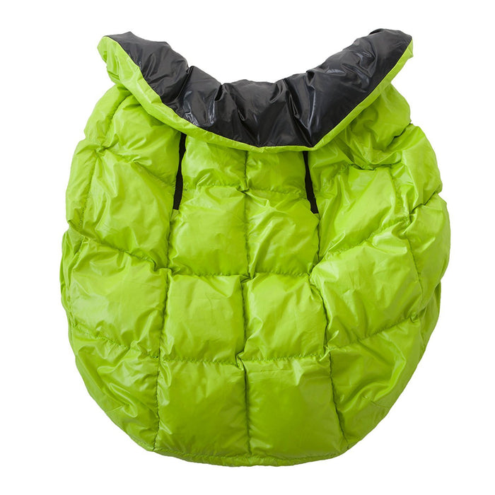 7AM Enfant Cygnet: 3-in-1 Cover for the Baby Carrier, Car-Seat and Stroller, Neon Lime/Black