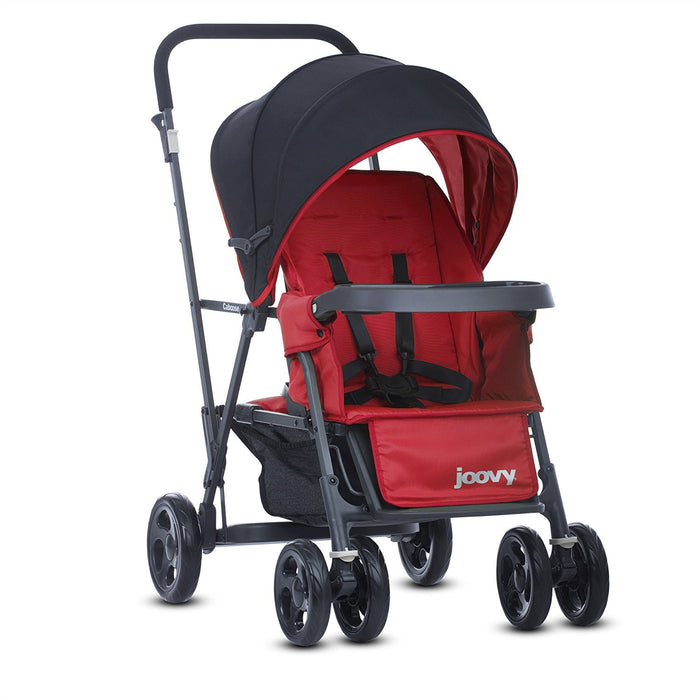 Joovy Caboose Graphite Stand-On Tandem Pushchair (Red)