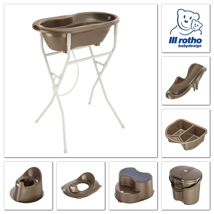 Rotho Babydesign Top Nappy Pail (Taupe Pearl)