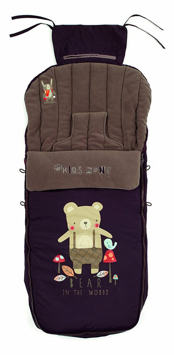 Jane Nest Footmuff (Brown)