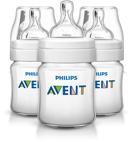 Philips Avent Classic+ Feeding Bottle SCF560/37 (125ml/4oz) x 3