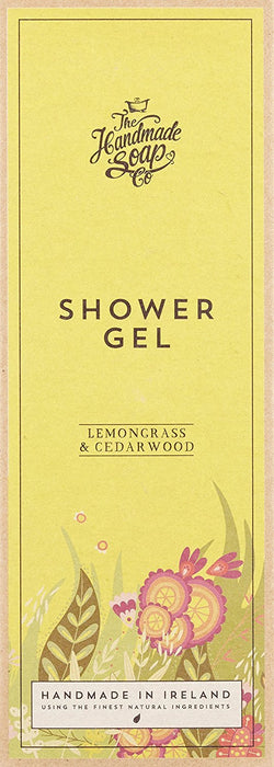 The Handmade Soap Company Lemongrass and Cedarwood Shower Gel 300 ml