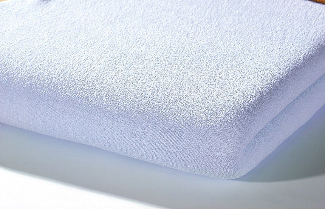 Alvi Jersey Fitted Sheet (70 x 140 cm, Blue)
