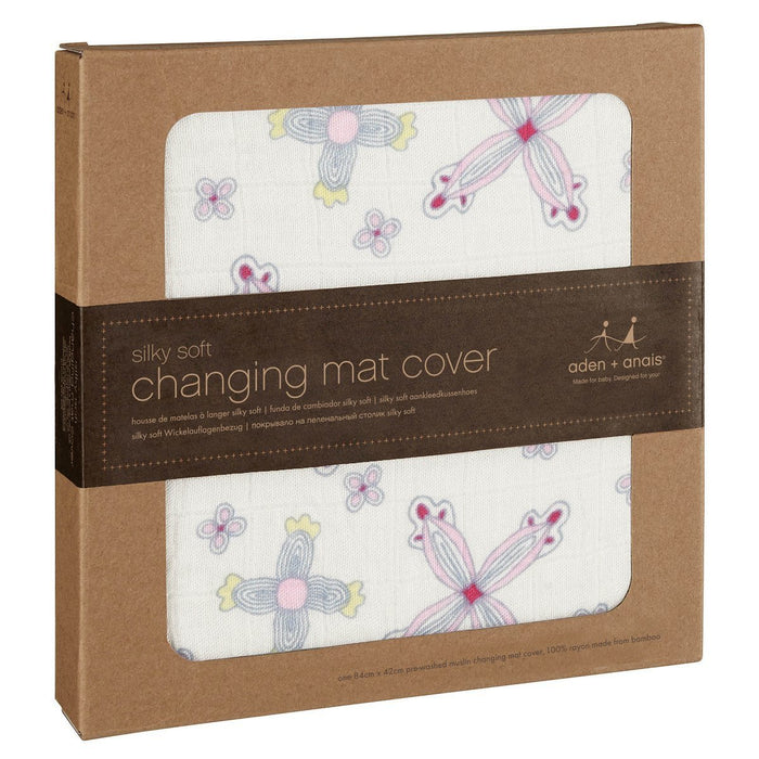 aden + anais Flower Child Baby Changing Mat Cover