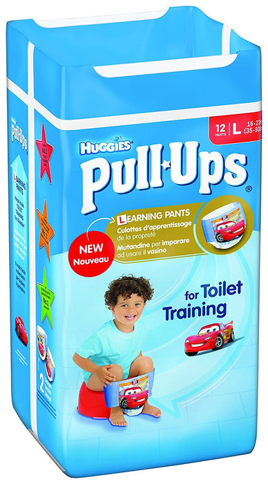 Huggies Pull Ups Potty Training Pants for Boys, Large - 72 Pants Total
