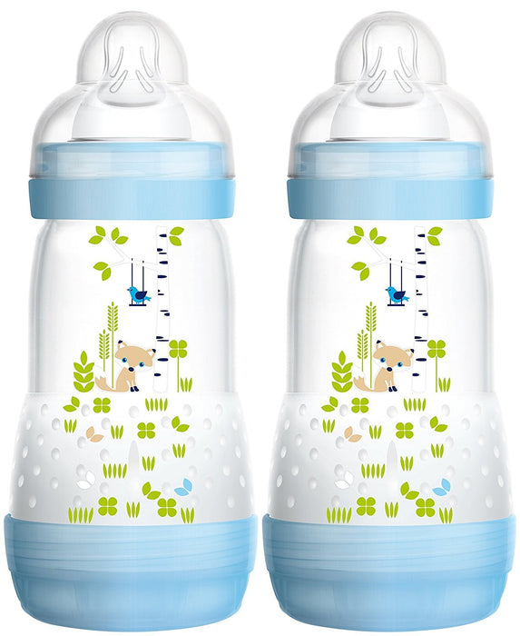 Mam 99921511 Anti-Colic Bottle 260 ml 2-Pack for Boys